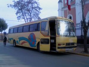 vendo bus pullman