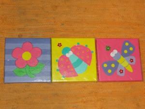 CUADROS INFANTILES en pintura acrilica