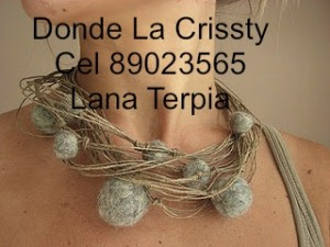 Clases de tejido a telar donde la crissty, www.lanaterapia.com