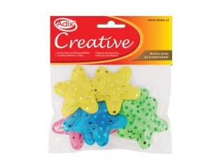 Puffy estrella de lentejuelas para manualidades adix creative
