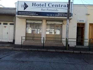 Hotel central donde dormir en san fernando chile alojamiento