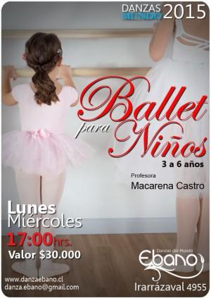 clases de pre ballet - danza creativa infantil