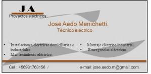Electricidad domiciliaria e industrial. técnico  electrico