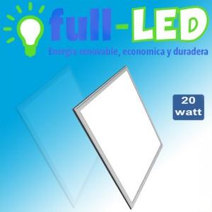 Panel led full-led  30x 60   /20 watt/ envios a todo chile