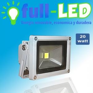Proyector full- led / 20 watt/ envios  a todo chile