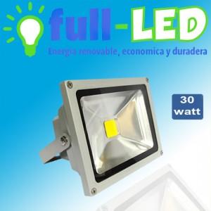 Proyector full- led 30 watt/ envios a todo chile