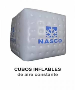 Inflables publicitarios. cilindros, tótem y latas con aire constante