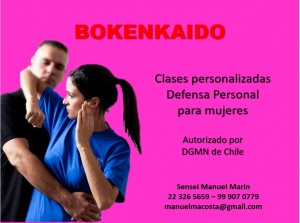 curso de defensa personal para mujeres y hombres