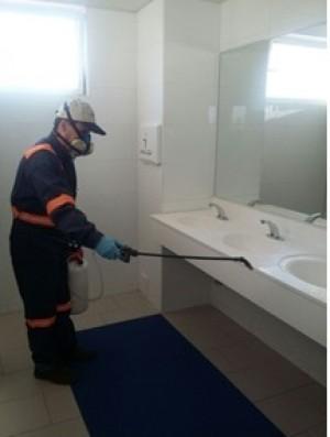 sanitización  de baños se otorga certificación seremi