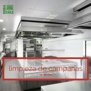 Limpieza campanas, limpieza extractores de cocinas industriales