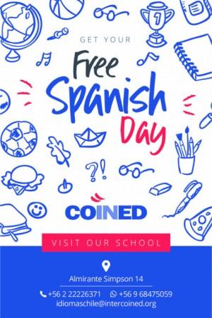 free spanish class - clases gratuitas de español