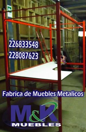 fabrica de muebles realiza camarotes tubulares o perfil cuadrado