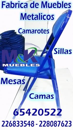 fabrica de muebles realiza sillas plegables en perfil