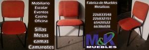 Fabrica de muebles realiza sillas modelo iso