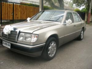 Auto para matrimonios mercedes benz clasico 300e