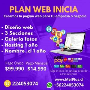 Creamos la pagina web para tu empresa o negocio en chile