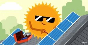 instalación de paneles fotovoltaicos energia gratis !