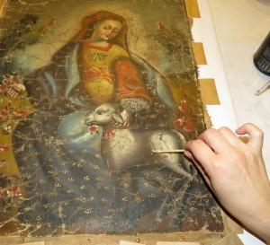Restauración, conservación, pinturas, obras de arte, patrimonio