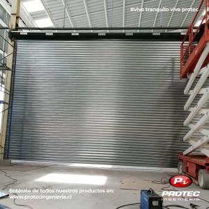 instalacion ,fabricacion de cortinas metalicas enrollables en santiago