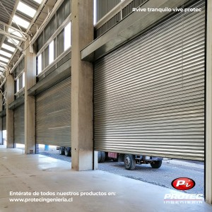 cortinas metalicas protec ingenieria para la industria