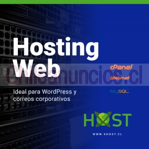hosting web correos corporativos alojamiento web chile