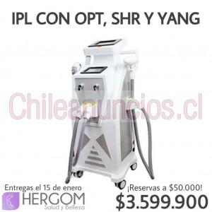 ipl con opt shr y yang máquinas de estética