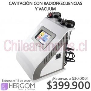 cavitación con radiofrecuencia y vacuum: máquinas estéticas