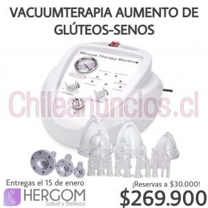 vacuumterapia aumento glúteos y senos, máquinas de estética
