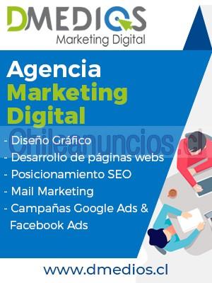 agencia de marketing digital, integramos todos los servicios necesarios para garantizar tu presencia