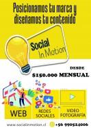 gestion en redes sociales / paginas web