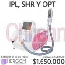 ipl shr y opt máquinas de estética