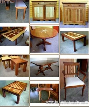 Muebles buho fabricacion de muebles con madera natural - Fabricacion de muebles de madera ...