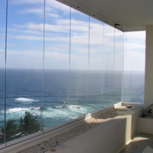 Ventana fija ventana oscilobatiente shower door templado puerta vidriada puerta de loggia - Cierres de terrazas ...