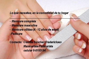 manicure, pedicure a domicilio