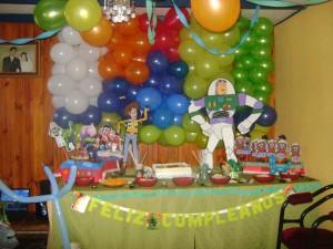 decoramos para cumpleaños toy story