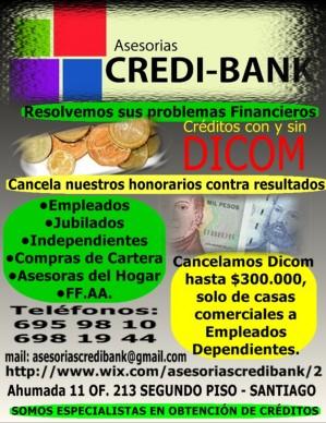 creditos con y sin dicom