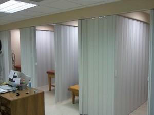 Ingrid cortinas plegables de pvc para box clinico cortinas Cortinas plegables de pvc