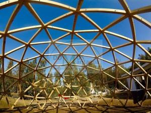 construccion de domos geodésicos de madera, mantagua, concon