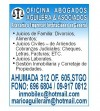 ABOGADOS UNIVERSIDAD DE CHILE CIVIL, FAMILIA, LABORAL