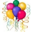 Animación, decoración con globos, arriendo de sillitas y mesas, etc