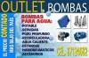 OUTLET BOMBAS PARA AGUA POTABLE RIEGO, AGUAS SERVIDAS anuncio enviado a www.chileanuncios.cl por HIDROGOTTA el 20/4/2011