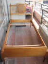 Vendo cama de 1 plaza + sommier estilo Luis XVI (no original)