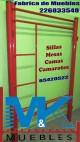 Camarotes en tubulares o en perfil cuadrado, etc anuncio enviado a www.chileanuncios.cl por Muebles M&K el 30/12/2015