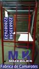 Sillas camas camarotes mesas kinder pupitres fabrica de muebles anuncio enviado a www.chileanuncios.cl por Tratamiento Metalico el 14/3/2016