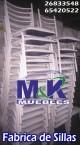 Nuevo modelo silla apilable evento myk tapizada blancas anuncio enviado a www.chileanuncios.cl por Tratamiento Metalico el 21/5/2016