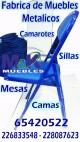 Fabrica de muebles realiza sillas plegables en perfil anuncio enviado a www.chileanuncios.cl por MUEBLES METALICOS  el 14/11/2017